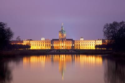 Germany, Berlin. Charlottenburg Castle Environs. Unesco-Ken Scicluna-Photographic Print