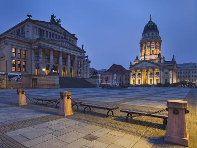Germany, Berlin, Gendarmenmarkt, Konzerthaus (Concert Hall), Franzšsischer Dom (French Cathedral-Rainer Mirau-Photographic Print