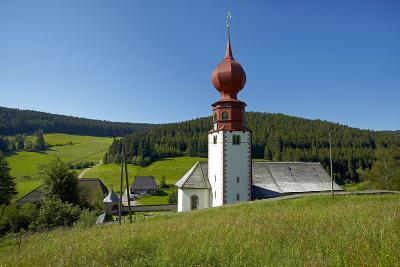 Germany, Black Forest, Urach, Cemetery Chapel-Chris Seba-Photographic Print