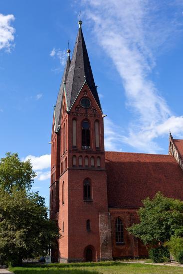 Germany, Brandenburg, Oder-Neisse Cycle Route, Frankfurt / Oder, Gertraudenkirche-Catharina Lux-Photographic Print