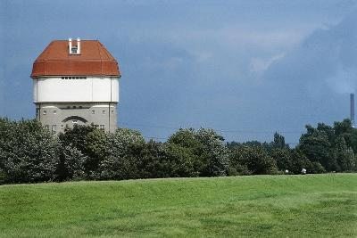 Germany, Duisburg-Rheinhausen, Hohenbudberg Water Tower--Giclee Print