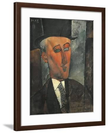 Germany, Dusseldorf, Portrait of Max Jacob--Framed Giclee Print