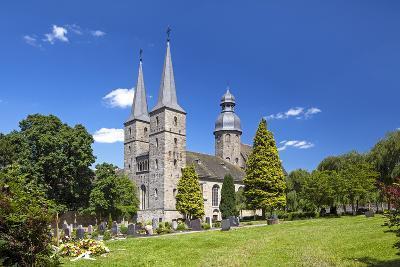 Germany, Easter Westphalia, Abbey MarienmŸnster-Chris Seba-Photographic Print