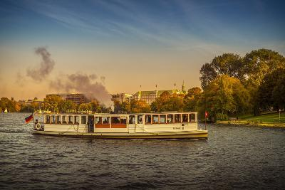 Germany, Hamburg, City Centre, the Alster, Outer Alster, Autumn-Ingo Boelter-Photographic Print