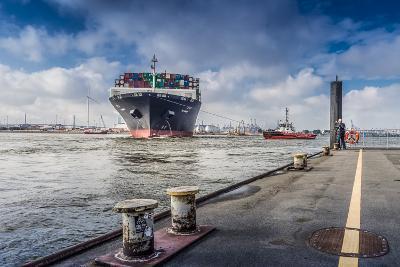 Germany, Hamburg, the Elbe, Fish Market, Harbour-Ingo Boelter-Photographic Print
