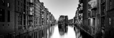Germany, Hamburg, Warehouses and New Apartments in the Converted Speichrstadt District-Michele Falzone-Photographic Print