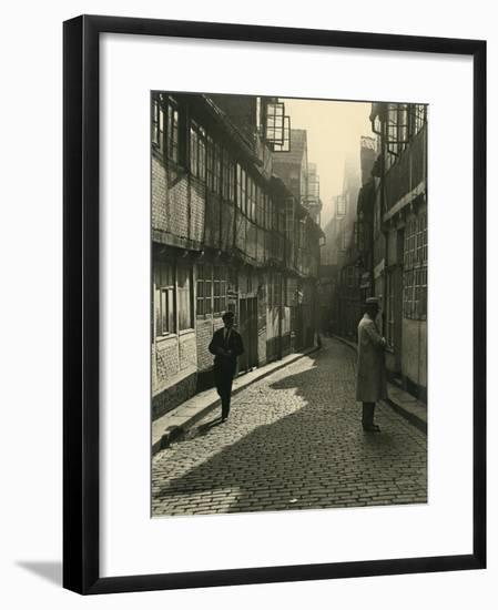 Germany Hamburg-Arthur Collatz-Framed Giclee Print