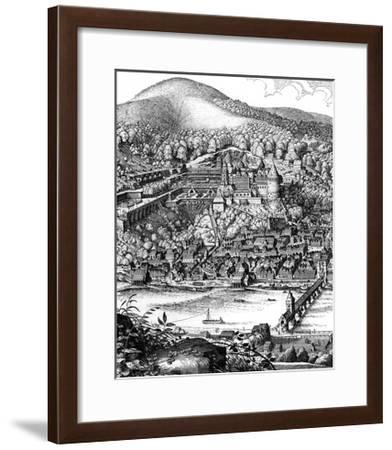 Germany Heidelberg-Mathieu Merian-Framed Giclee Print