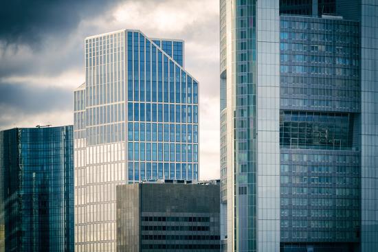 Germany, Hesse, Frankfurt on the Main, Windows of High-Rise Office Blocks-Bernd Wittelsbach-Photographic Print