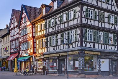 Germany, Hesse, Odenwald (Region), Bergstra§e (Region), Bensheim, High Street-Udo Siebig-Photographic Print