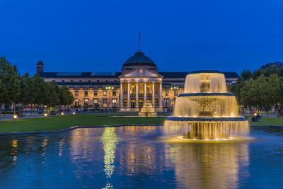 Germany, Hesse, Rheingau Region, Wiesbaden, Health Resort-Udo Siebig-Photographic Print
