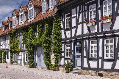 Germany, Hessen, Taunus, German Timber-Frame Road, Idstein, Old Town, Timber-Framed Facades-Udo Siebig-Photographic Print