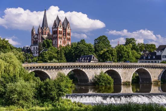 Germany, Hessen, Taunus (Region), Lahn, Limburger Becken-Udo Siebig-Photographic Print