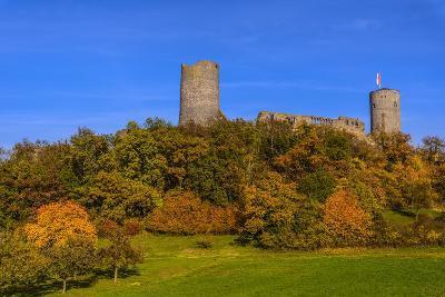 Germany, Hessen, Wetterau, M?nzenberg, M?nzenberg Castle-Udo Siebig-Photographic Print