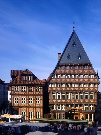 Germany Hildesheim-Charles Bowman-Photographic Print
