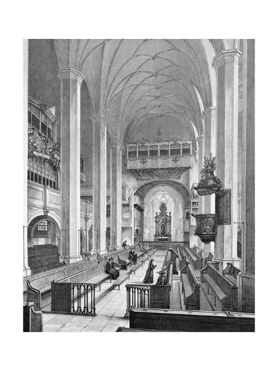 Germany, Interior of Thomaskirche--Giclee Print