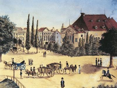 Germany, Leipzig, Konzertsaal Des Gewandhauses--Giclee Print