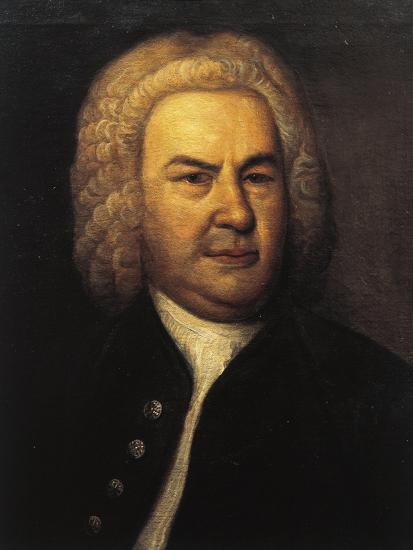 Germany, Leipzig, Portrait of German Composer and Organist, Johann Sebastian Bach--Giclee Print