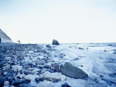 Germany, Mecklenburg-Western Pomerania, RŸgen, Peninsula Wittow, Cape Arkona, Beach Baltic Sea- Photo-Active-Photographic Print
