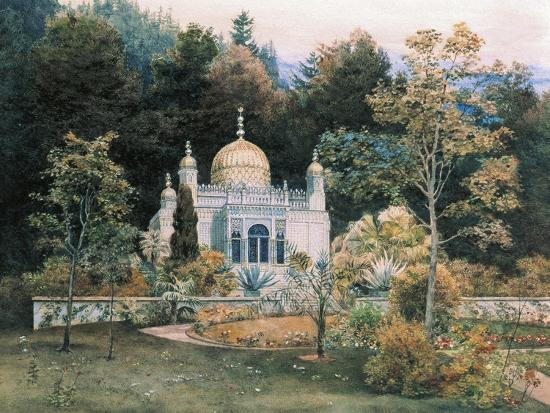 Germany, Moorish Kiosk in Park of Linderhof Castle, 1881-Heinrich Schliemann-Giclee Print