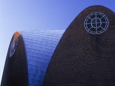 Germany, North Rhine-Westphalia, Cologne, Church St Engelbert, Built in 1930-32 by Dominikus Bšhm-Andreas Keil-Photographic Print