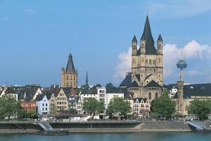 Germany, North Rhine-Westphalia, Nordrhein-Westfalen, Cologne Skyline