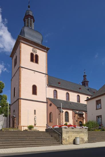 Germany, Rhineland-Palatinate, Eifel, Wittlich, Parish Church Saint Markus-Chris Seba-Photographic Print