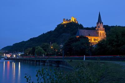 Germany, Rhineland-Palatinate, Middle Rhine Valley, Oberwesel, Middle Rhine-Chris Seba-Photographic Print