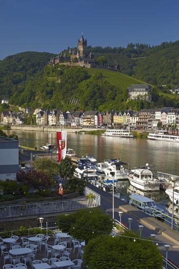 Germany, Rhineland-Palatinate, the Moselle, Cochem, Castle-Chris Seba-Photographic Print