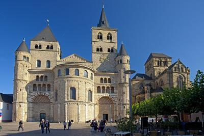 Germany, Rhineland-Palatinate, the Moselle, Trier, Cathedral-Chris Seba-Photographic Print