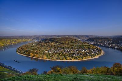 Germany, Rhineland-Palatinate, Upper Middle Rhine Valley, Boppard, Rhine Loop-Udo Siebig-Photographic Print