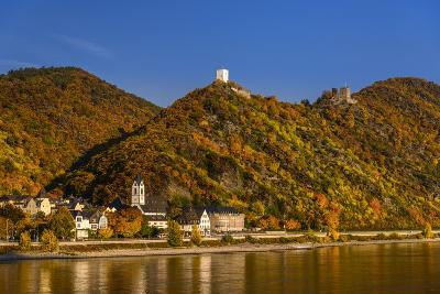 Germany, Rhineland-Palatinate, Upper Middle Rhine Valley, Kamp-Bornhofen, Townscape-Udo Siebig-Photographic Print