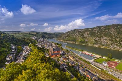 Germany, Rhineland-Palatinate, Upper Middle Rhine Valley, Oberwesel, Rhine Valley-Udo Siebig-Photographic Print