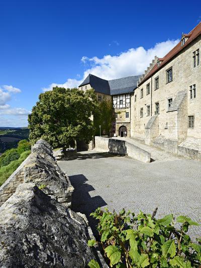 Germany, Saxony-Anhalt, Burgenlandkreis, Freyburg (Unstrut), Castle Neuenburg Above the Unstruttal-Andreas Vitting-Photographic Print