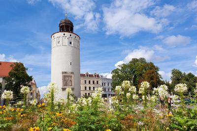 Germany, Saxony, Gšrlitz, Marienplatz, Thick Tower-Catharina Lux-Photographic Print