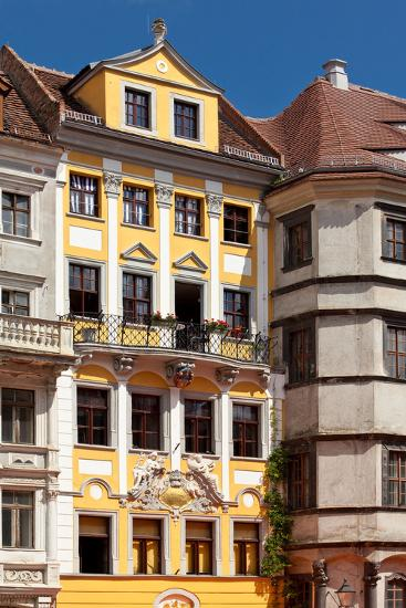 Germany, Saxony, Gšrlitz, Untermarkt, Baroque Facade-Catharina Lux-Photographic Print