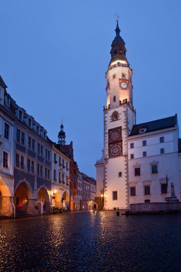 Germany, Saxony, Gšrlitz, Untermarkt, City Hall-Catharina Lux-Photographic Print