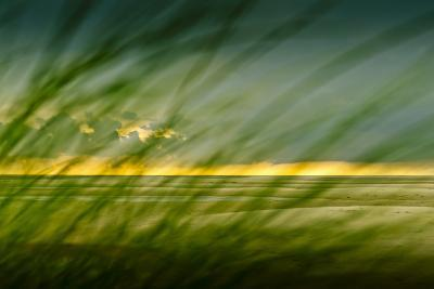 Germany, Schleswig-Holstein, Amrum, Sandy Beach, Sandbank, Kniepsand-Ingo Boelter-Photographic Print