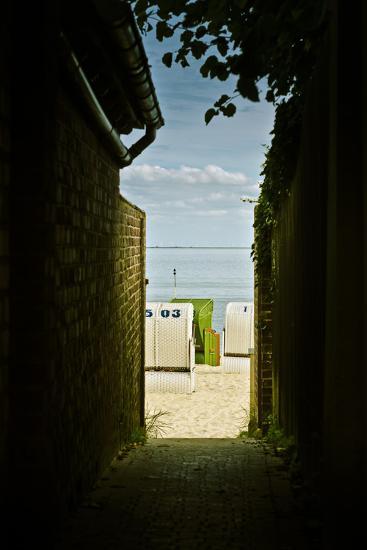 Germany, Schleswig-Holstein, Wyk, Sandy Beach, Bathing Beach-Ingo Boelter-Photographic Print