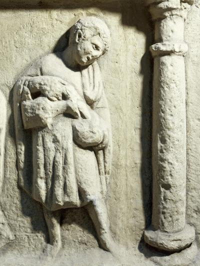 Germany, Trier, Relief Depicting Servant on Monument at Igel--Giclee Print