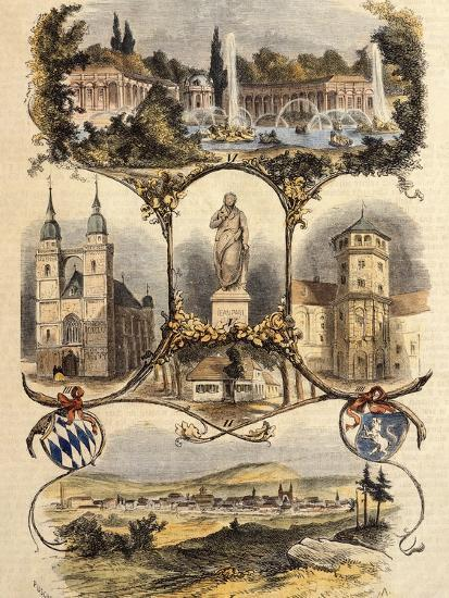 Germany, View of Bayreuth, 1860--Giclee Print