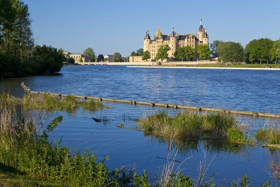 Germany, Western Pomerania, Schwerin Palace-Chris Seba-Photographic Print