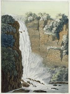 Tequendama Waterfall on the Bogota River, Colombia by Gerolamo Fumagalli