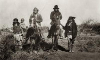 "Geronimo (Goyathlay, ""One who Yawns""), 1829-1909 Apache Indian Chief"