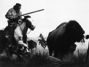 Geronimo Hunting Buffalo
