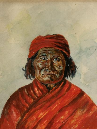 Geronimo-W.J. Ryan-Giclee Print