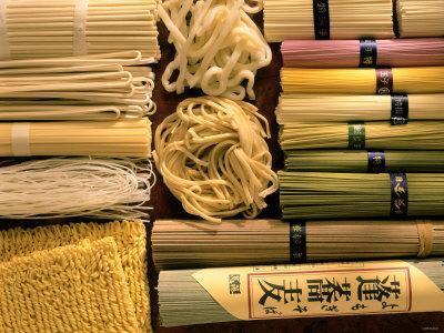Japanese Noodles: Soba, Udon, Kishimen, Harusame, Ramen