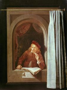 Self Portrait by Gerrit Dou