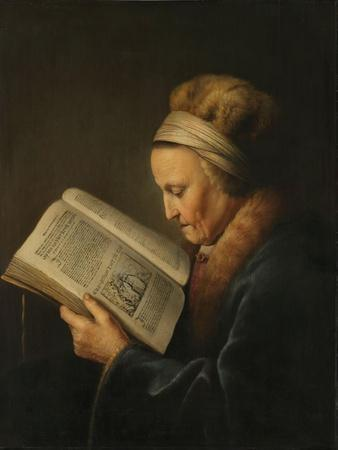 Old Woman Reading, c.1631-2