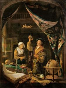 The Urine Doctor by Gerrit or Gerard Dou